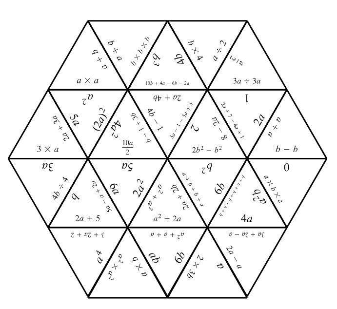 math worksheet : tarsia puzzles  mathematics learning and technology : Algebra Puzzles
