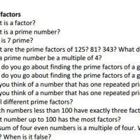 Bloomin' Mathematics
