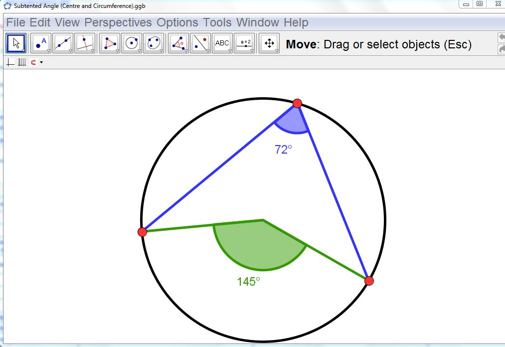 Circle Theorems | Mathematics, Learning and Web 2 0