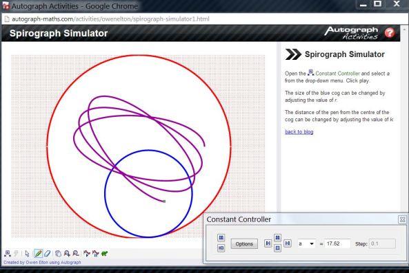 Spirograph - Autograph Activity