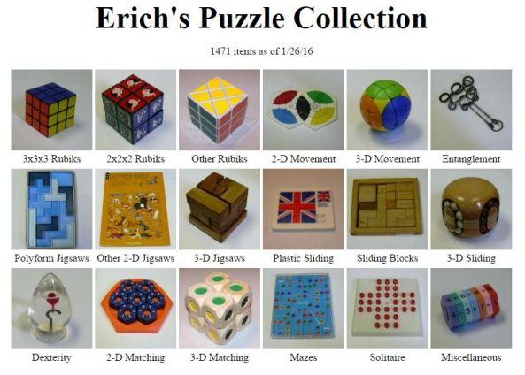 Erich's Puzzles
