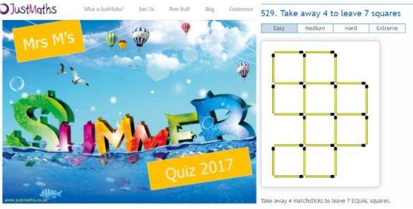 JM Quiz & Matchstick Puzzles