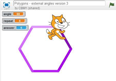 Πολύγωνα - εξωτερικές γωνίες έκδοση 3