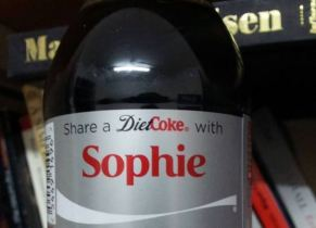 Share coke with Sophie