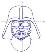 Darth Vader on Wolfram Alpha