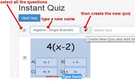 Instant Quiz - rename v2