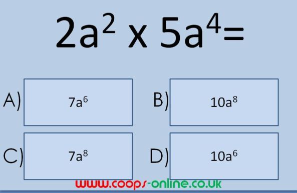 Mega Maths Quiz from Ben Cooper