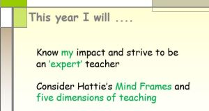 Hattie - Visible Learning