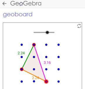 GeoGebra GeoBoard