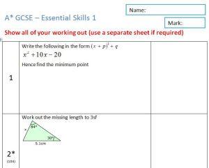 MathedUp! Essential Skills