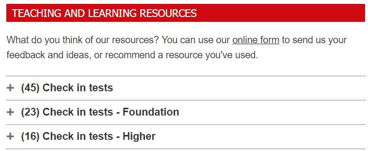 OCR GCSE Teaching Resources
