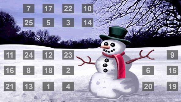 Advent calendar Alex Pett