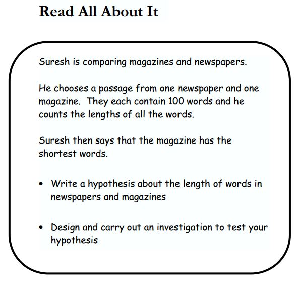 newspaper comparisons coursework It focuses on issues that should be addressed when presenting numerical data for different audiences  journal articles or newspaper reports  and coursework.