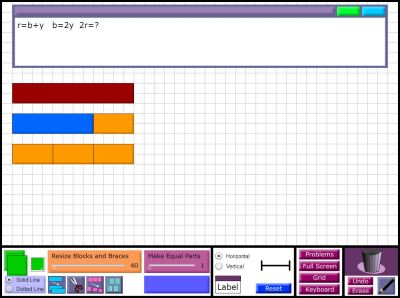 Thinking Blocks Modeling Tool - Math Playground