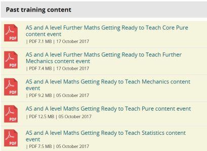 Edexcel Training