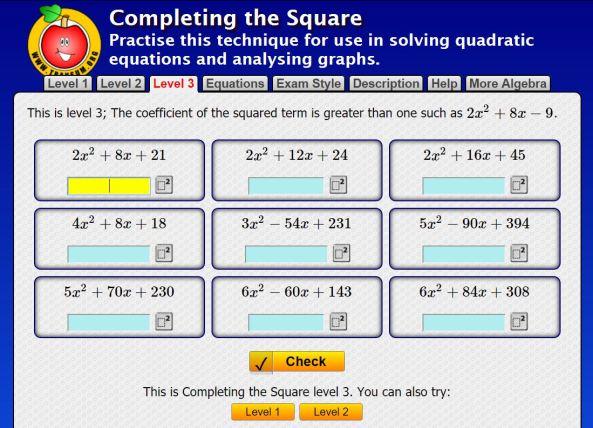 complete-square