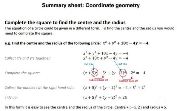 Coordiante Geometry