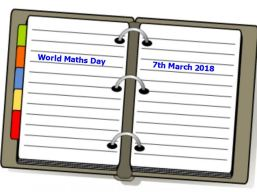 WorldMathsDay 2018