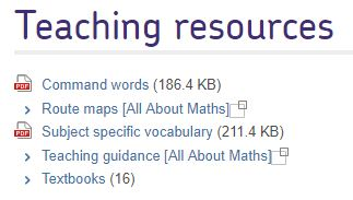 AQA Teaching Resources