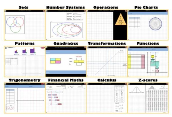 Project Maths - Whiteboard Templates