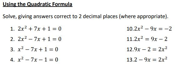 Quadratic Minimally Different Problems