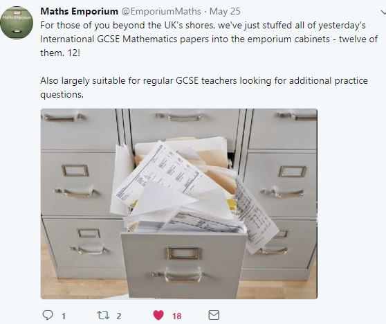 Maths Emporium International papers