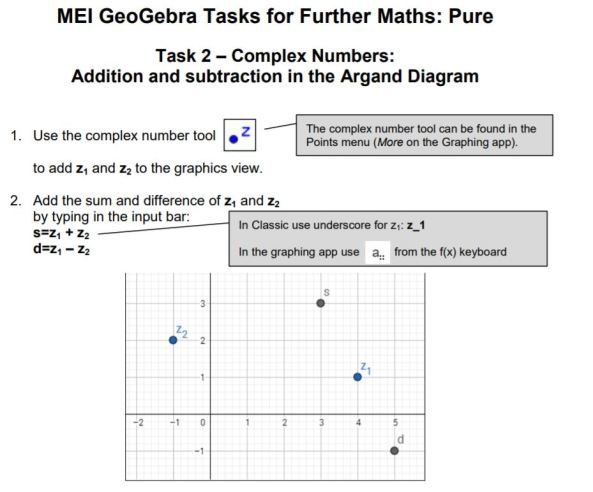 MEI Further Maths Pure Tasks