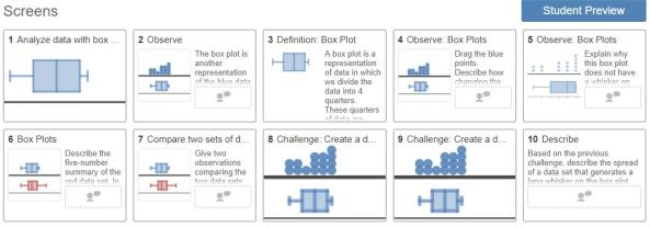 Boxplots Activity Builder