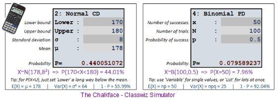 Chalkface Classwiz Simulator