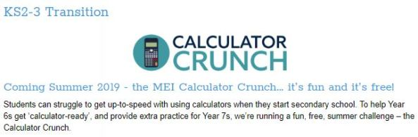 MEI Calculator Crunch