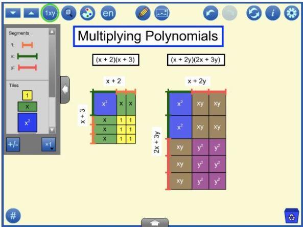 mathies Algebra Tiles