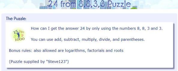 Mathisfun puzzle