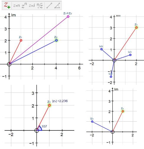 Autograph Complex Numbers