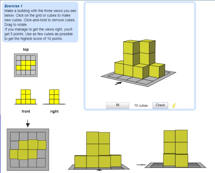 Cube Building 1